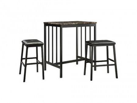 Edgar Kitchen Counter-Height Dining Set