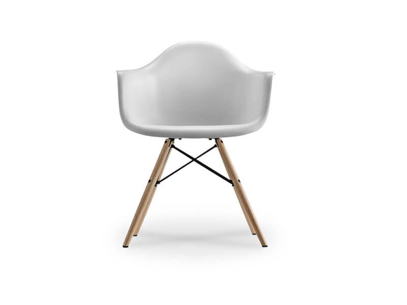 white winston armchair