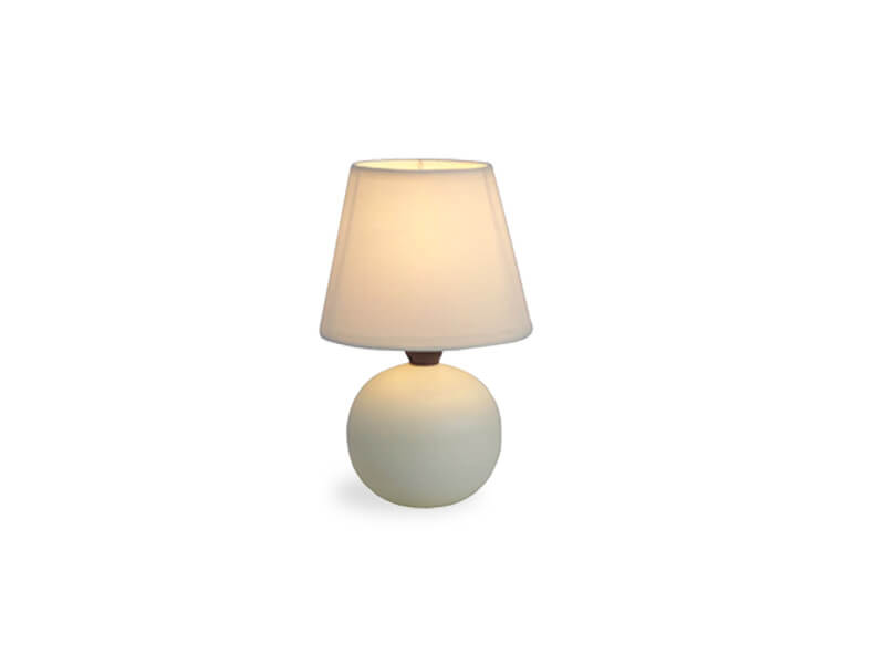 White Jameson Table Lamp 1