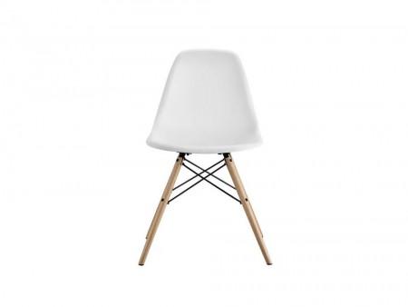 white valerian side chair