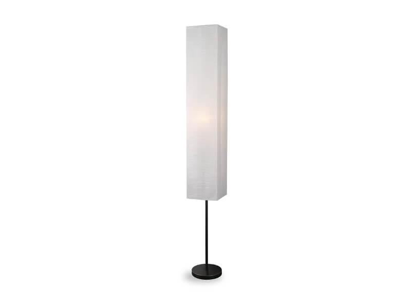 white lynet floor lamp