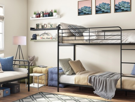 Bedroom Twinkle with Bunk Beds