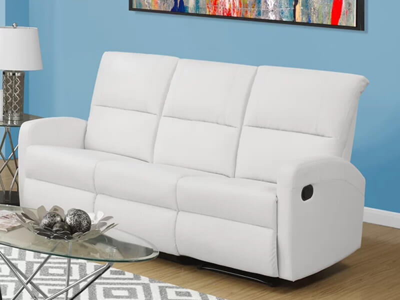 white madison sofa