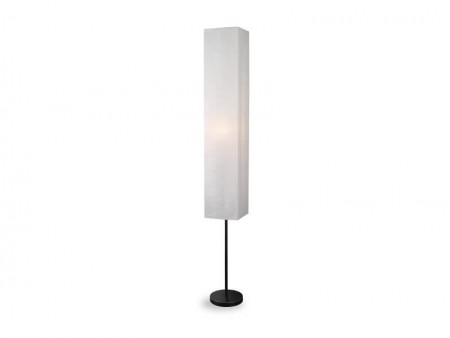 white lynet floor lamp