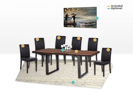 Vedal Dining Package Include and Optional