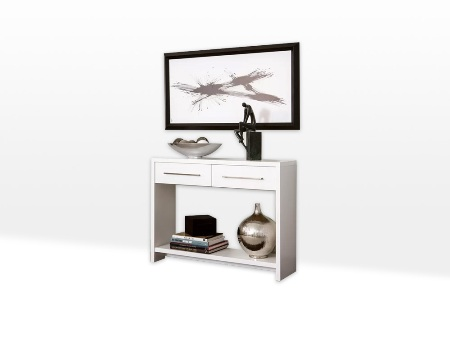 White Dove Dining Package Console Table