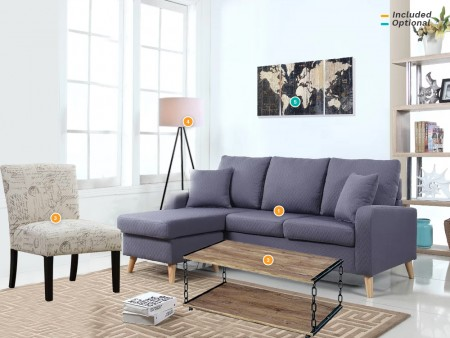 rent soco living room