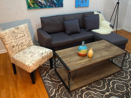 Soco Living Room Rental Furniture Set