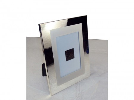 stainless steel picture frame