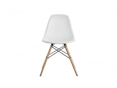 white valerian side chair