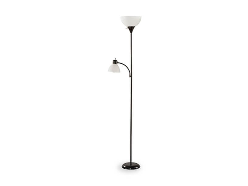 Black Wave Floor Lamp 1