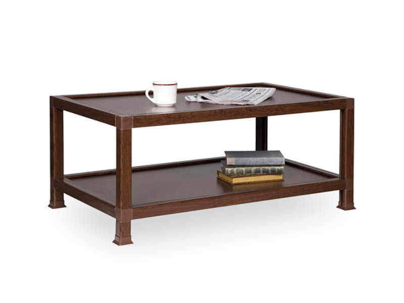 Brown Guild Coffee Table 1