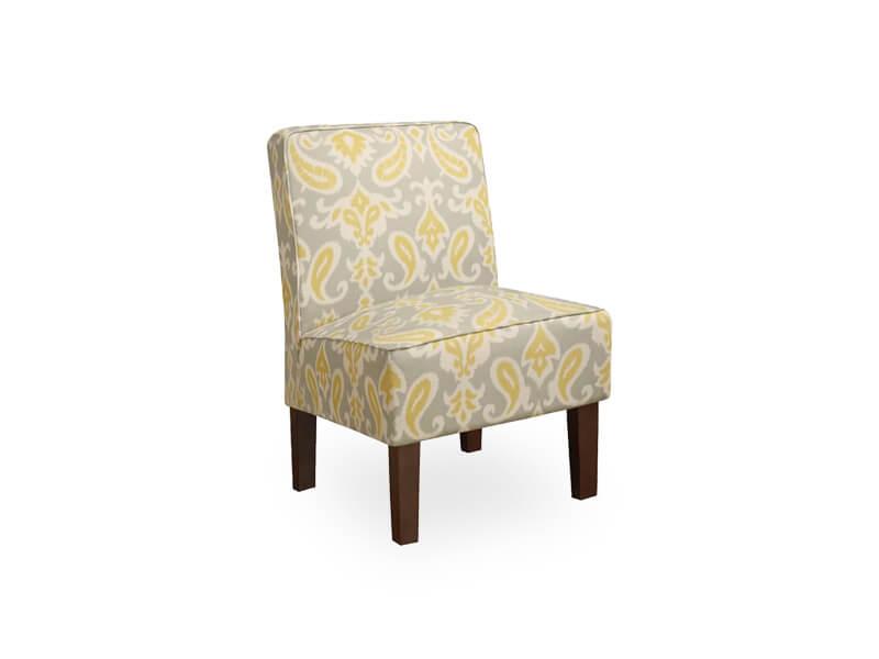Light Cream Jake Accent Chair 1