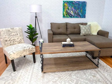 Bliss Living Room Rental Furniture Set