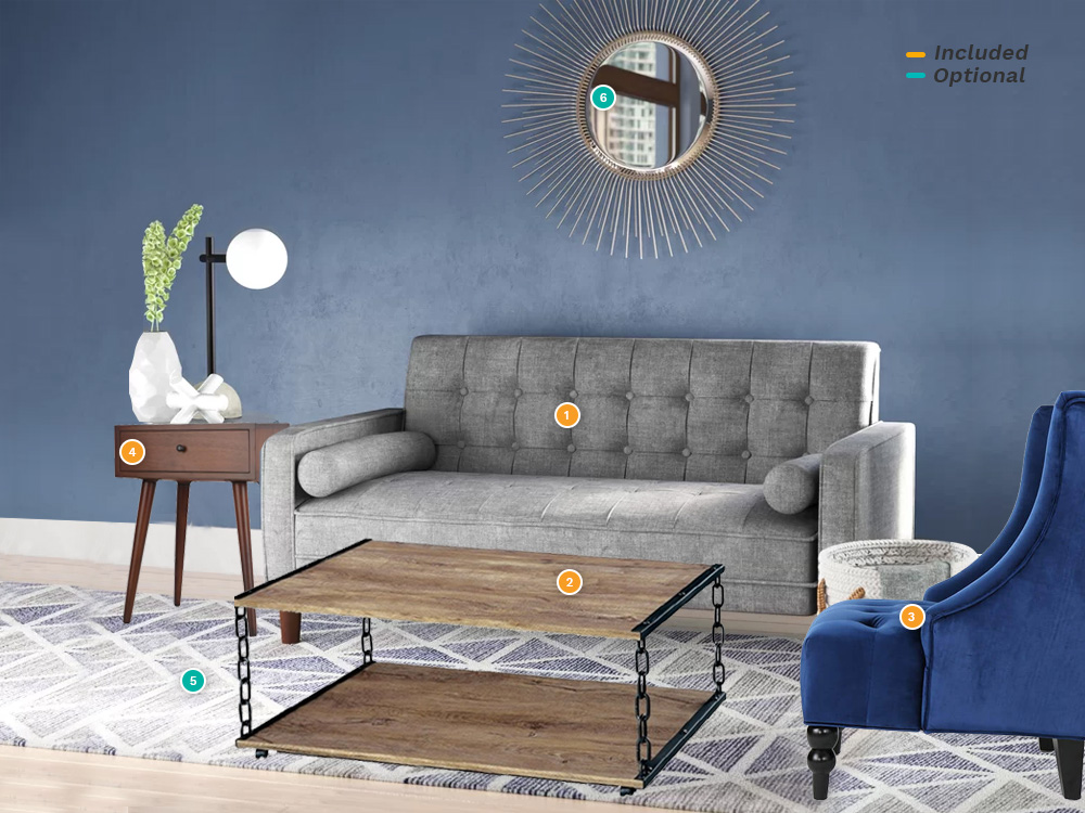 Rent Joy Living Room Package