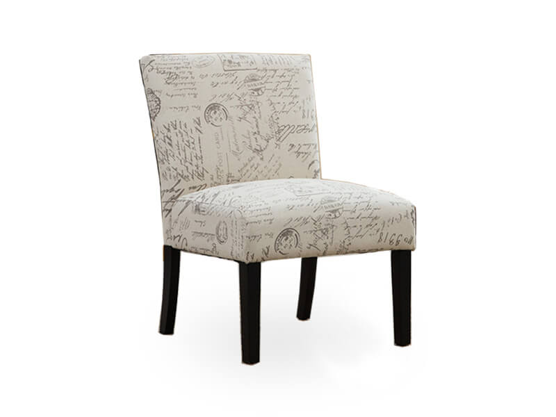 light cream jill accent chair