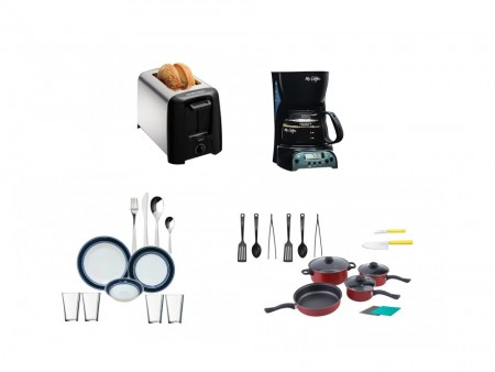 Inhabitr Basic Houseware Essentials