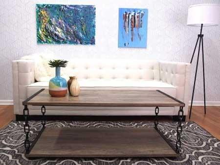 Jay Living Room Rental Furniture Set