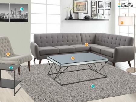 Rent Esseck Living Room Package