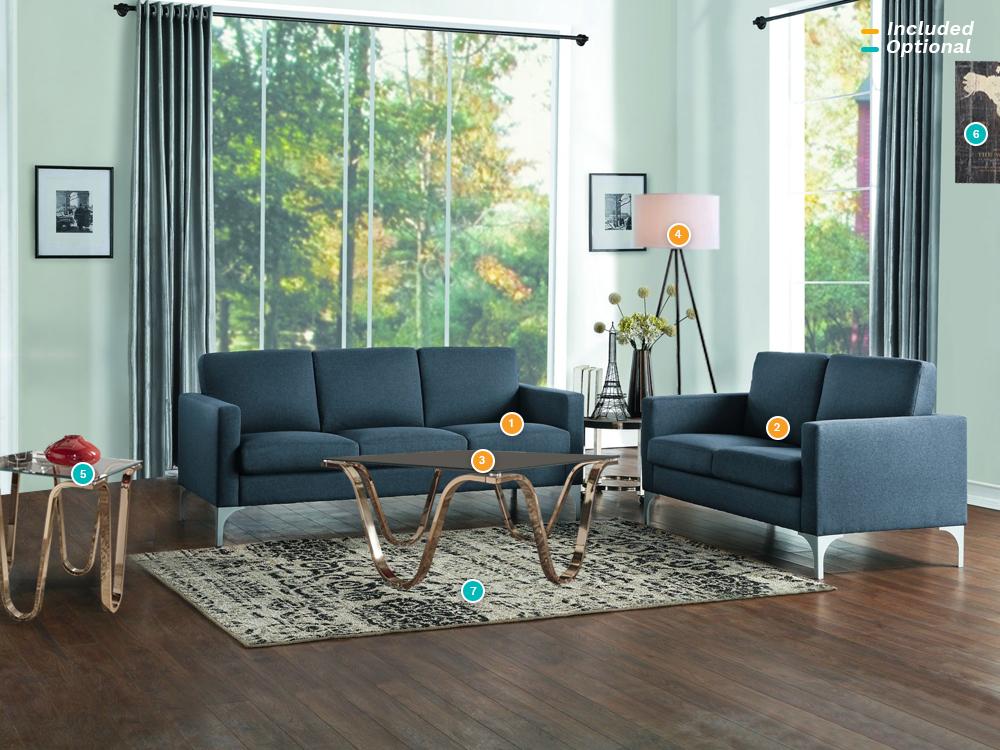 Rent Soho Living Room
