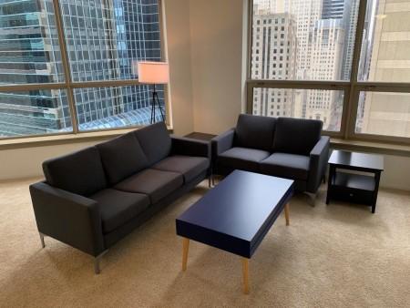 Soho Deluxe Living Room Furniture Set