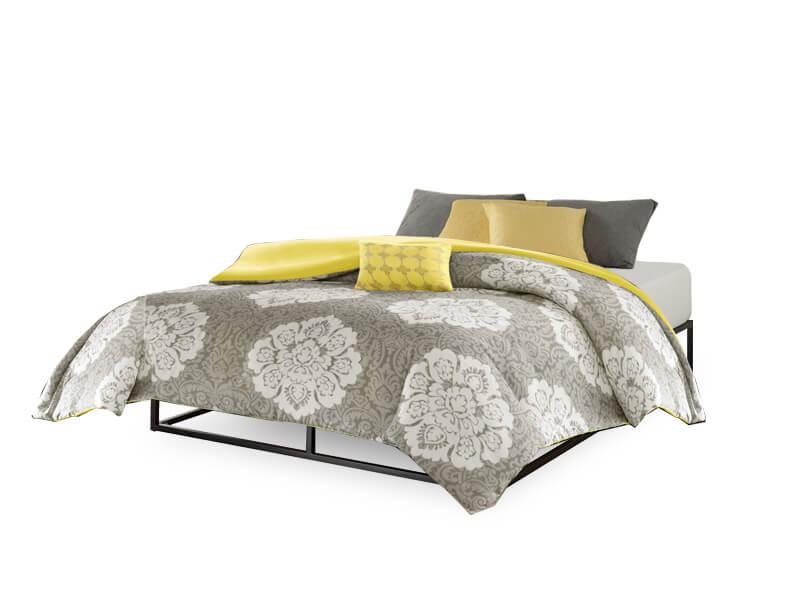 Full Hub Platform Bed