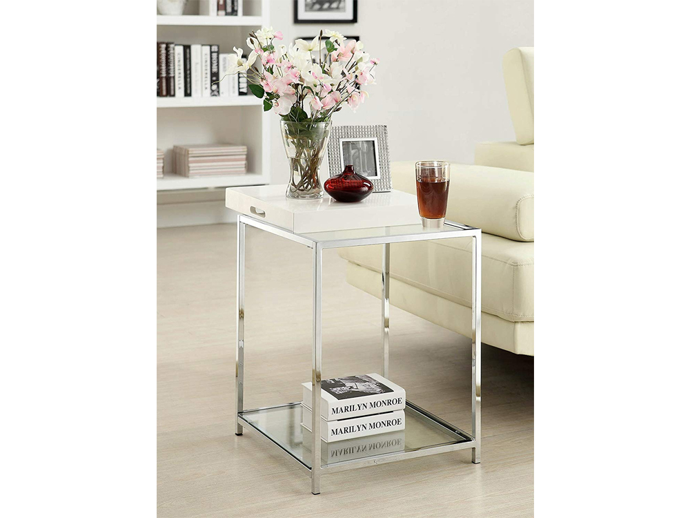 Tall Galleria End Table for Rent