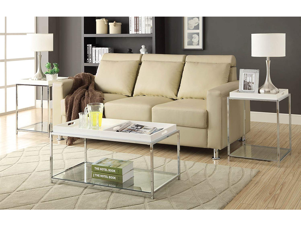 Rent Now Tall Galleria End Table