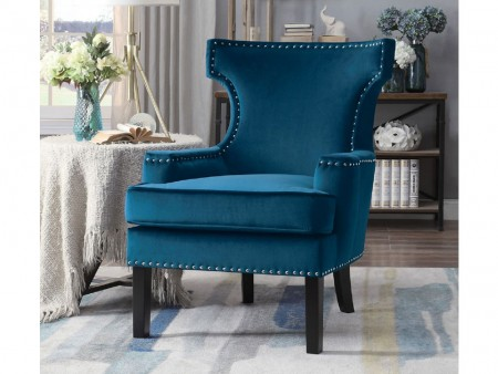 Blue Sapphire Armchair II for Rent