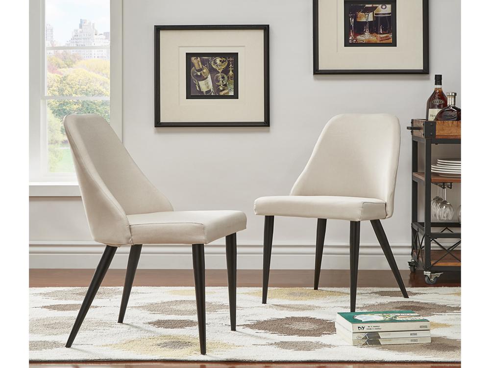 modern beloit chair white for rent