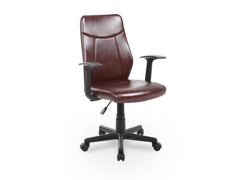 Brown Joey Desk Chair 1