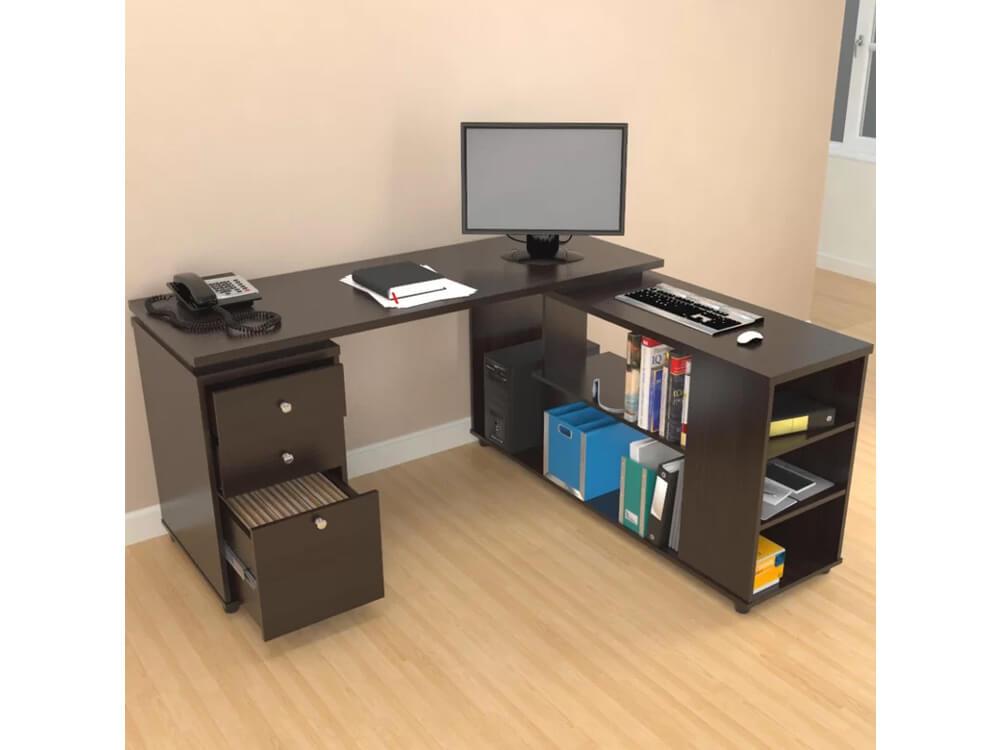 rent now inhabitr L shaped desk
