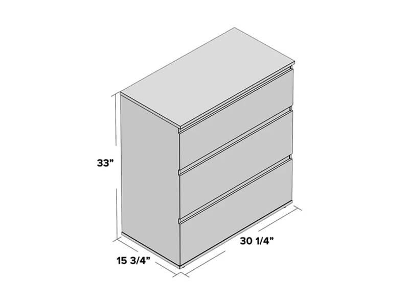 Truffle Keiv Wooden Dresser 4