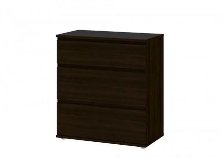 Black Keiv Wooden Dresser