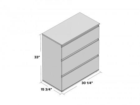 Keiv Wooden Dresser black