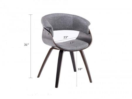 uma arm chair gray spec