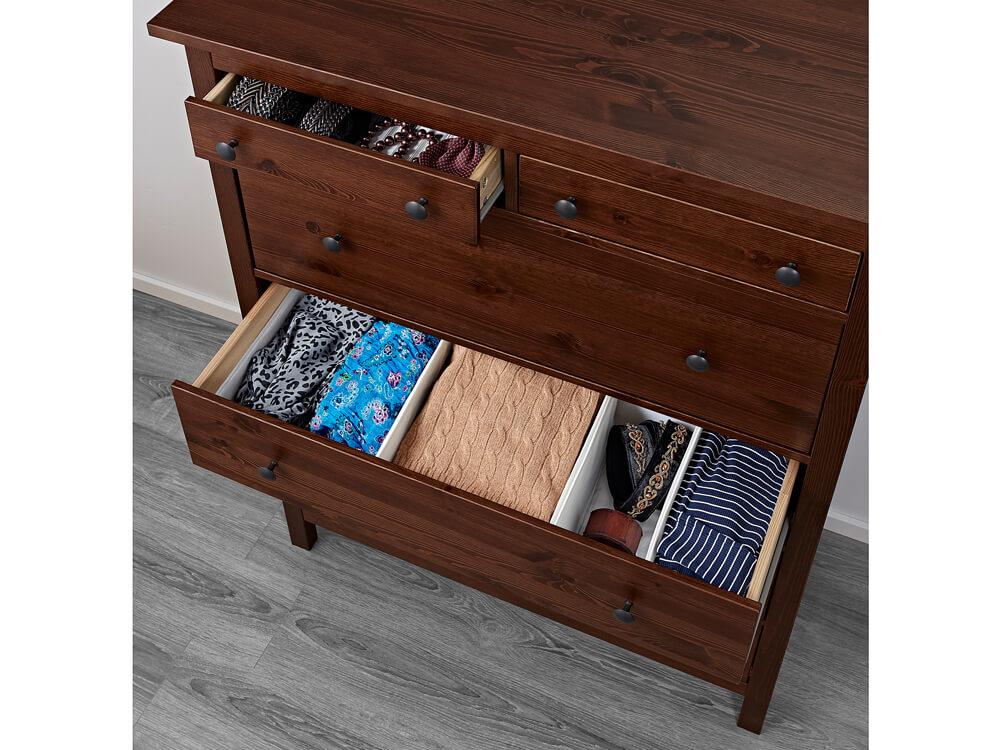 Black Lori Wooden Dresser 3