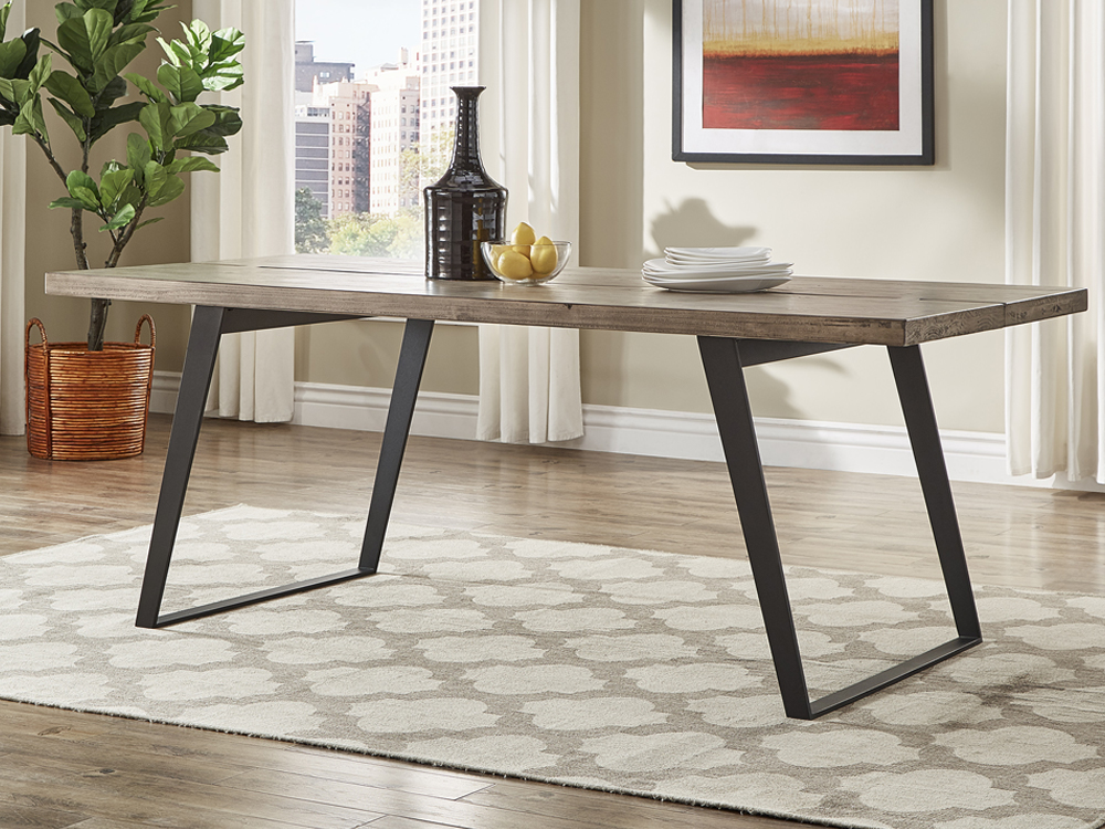 Rent Grey Finish Dining Table