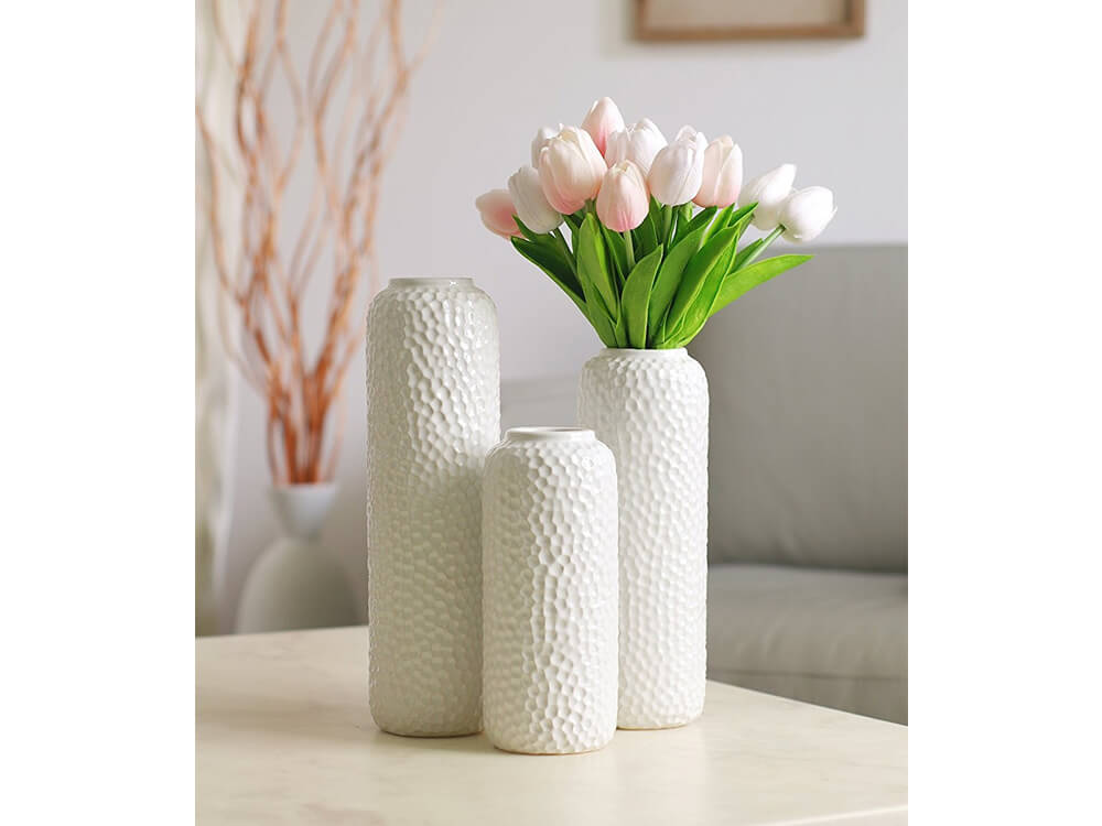 White Vase Collection 3