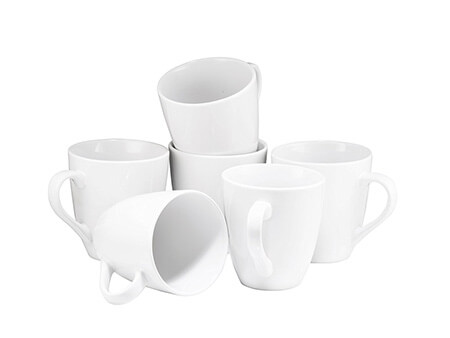 White Coffee Cup Collection