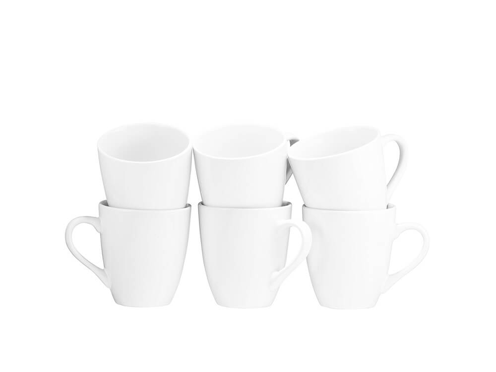White Coffee Cup Collection 1