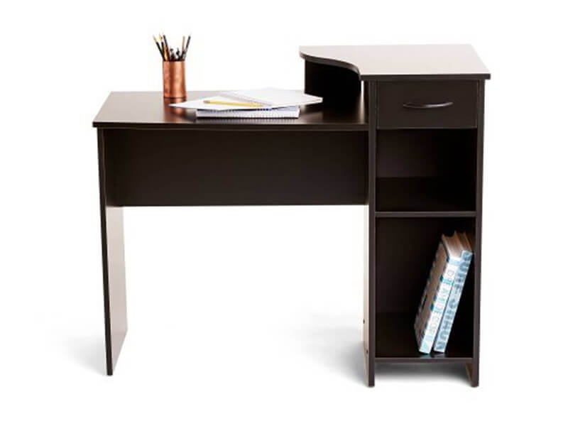 Black Arch Wooden Desk2