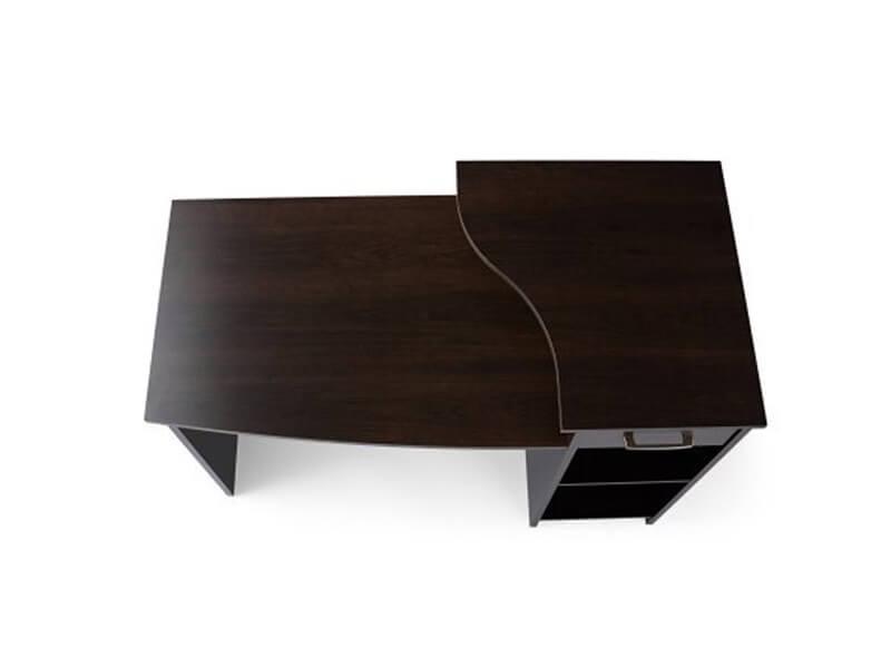 Black Arch Wooden Desk3