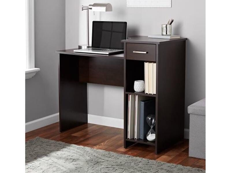Black Arch Wooden Desk4