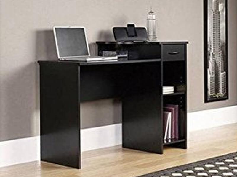 Black Arch Wooden Desk5