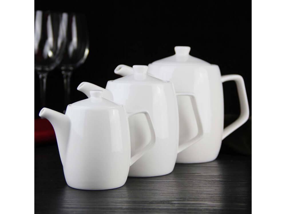 Rent Now White Coffee Pot