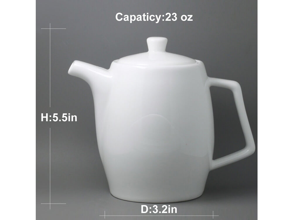 White Coffee Pot 3