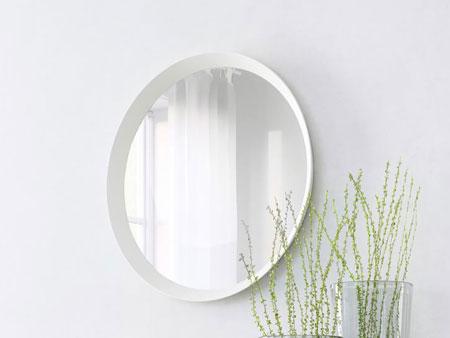 Oval White Mirror 1