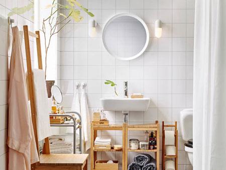 Oval White Mirror 2