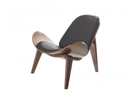Walnut Accent Chair